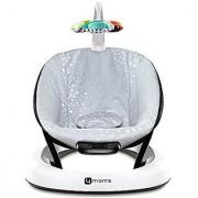 4moms BounceRoo Bouncer Seat Silver Plush