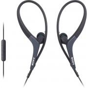 Casti Sony MDR-AS400iP Sport Black pentru iPhone
