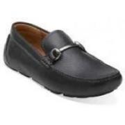 Clarks Davont Ride Blk Tumbled Lea Casual Shoes(Black)