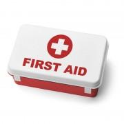 Cutie metalica pentru trusa prim ajutor