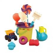 B. Toys Bx1307Z - B. Ready Beach Bag Olive Giocatoli Per La Spiaggia