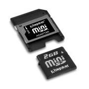 Карта памет Kingston 2 GB Mini SD Card