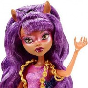 Papusa Clawdeen Wolf - Monster High Haunted