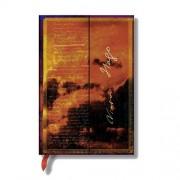 PAPERBLANKS Carnet PAPERBLANKS ligné Victor Hugo, Les Misérables - Les Manuscrits Estampés - Mini 100 × 140mm - 176pages