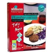 Ahimsa Hamburguesas de Tofu y Algas Eco 150g