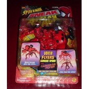 Spider-Man Sneak Attack: Web Flyers: Carnage SPider with Carnage Flyer Plus Sneak Attack Sticker
