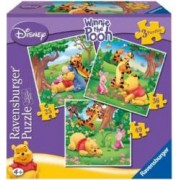PUZZLE WINNIE THE POOH 3 BUC IN CUTIE 253649 PIESE Ravensburger