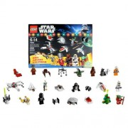 Star Wars Lego Year 2011 Series Set #7958 Advent Calender With 9 Minifigures(Total Piece: 266)