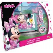 Disney Minnie digitális karóra + pénztárca szett