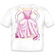 Just Add A Kid Majica Cinderella Pink 362