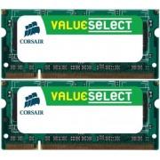 Corsair 4GB (2x2GB) DDR2 667MHz/PC2-5300 Laptop Memory Sodimm CL5 1.8V