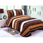 Cuvertură de pat Valentini Bianco Brown