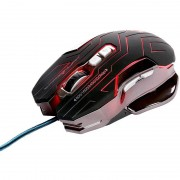 Mouse Gaming Dragon War Reload Black