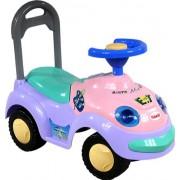 Correpasillos y andados para bebes - Portador con funcion empuja -Tire del juguete - Coche para bebe - Coches para ninos - Baby car ARTI 2109BY Garbus Classic Violet Ride-On