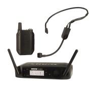 Shure GLXD14/PGA31 Sistema Microfone Sem Fio, Headset de Cabeça