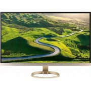 "Monitor IPS LED Acer 27"" H277HUKMIPUZ, WQHD (2560 x 1440), HDMI, DisplayPort, 4 ms, Boxe (Auriu)"