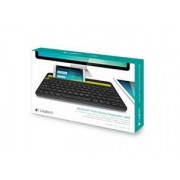 LOGITECH clavier AZERTY bluetooth multidevice K480 Noir