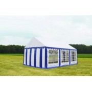 Classic Plus Partytent PVC 3x6x2 mtr in Wit-Blauw