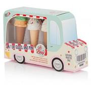 NPW Regali Ice Cream Van 2-in-1 Lip Gloss e penna