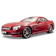 Maisto 1:18 Scale Mercedes-Benz SL 63 AMG Hard Top Diecast Vehicle (Colors May Vary)