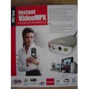 ADS Instant VideoMPX - Adaptateur d'entrée vidéo - Hi-Speed USB - NTSC, SECAM, PAL