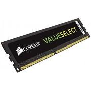 Corsair CMV4GX4M1A2133C15 Value Select Memoria per Desktop Mainstream da 4 GB (1x4 GB), DDR4, 2133 MHz, CL15, Nero