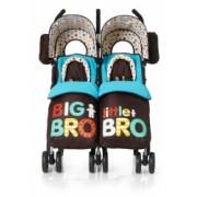 Cosatto Supa Dupa Twin Pushchair - Big Bro Little Bro
