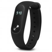 Original Xiaomi Mi Band 2 Smart Watch Avec Bluetooth 4.0 Écran Tactile Oled Moniteur De Fréquence Cardiaque Sleeping Qnd Sport Monitoring Noir