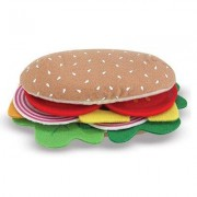 Melissa & Doug 33-Piece Felt Food Sandwich Set 3954