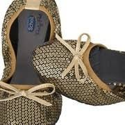 /Eredeti!/ Scholl Pocket Balerina cipő arany