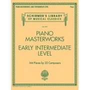 Piano Masterworks - Schirmer's Library of Musical Classics: Schirmer's Library of Musical Classics