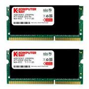 Komputerbay 8GB (2x 4GB) DDR3 SODIMM (204 pin) made with Hynix semiconductors...