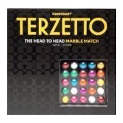 Terzetto: The Head to Head Marble Match Board Game by Gamewright