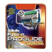 Gillette Fusion Proglide Power Scheermesjes 8 stuks