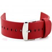 Bracelete de Pele para Relógio Apple - 38 mm - Vermelho