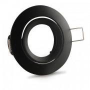 Porta lampada Nero con attacco GU10