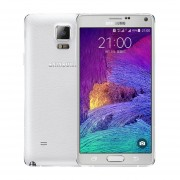 "Samsung Galaxy Note 4 N9100 Android 4.4 Snapdragon 805 16.0MP 5.7 ""ROM De 3 GB RAM 16G Blanco"