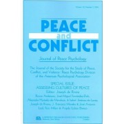 Assessing Cultures of Peace by Joseph De Rivera