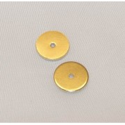 Discuri 10mm Placate cu Aur 18 Kt