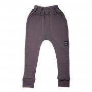 Pantaloni lungi Class - gri inchis, 8-10 ani