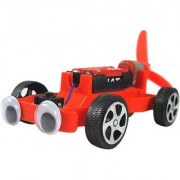 Magideal Electric Airscrew Powered Racing Car Diy Assembly Toy Kit C0313