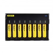 BCATP H8 18650 Battery Charger 1.2V 3.7V 3.2V 3.85V AA / AAA 26650 10440 14500 16340 25500 NiMH lithium battery smart charger