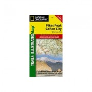 Universal Map Pikes Peak/Canon City County Map 10563