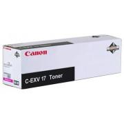 CANON C-EXV 17 Toner Cartridge, Magenta (CF0260B002AA)