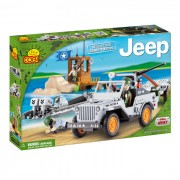SET DE CONSTRUIT JEEP WILLYS PAZA DE COASTA - COBI (EP3X24253)
