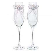 Pahare de cristal Preciosa - Wedding Set