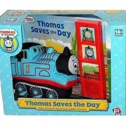 Thomas Saves the Day Plush Toy with Play-A-Sound Book by Pi Kids