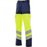 Modyf Pantalon Haute Visibilité Jaune Fluo/marine En 471