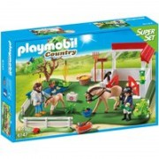 Playmobil Country SuperSet Koppel mit Pferdebox (6147)