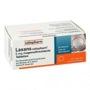 ratiopharm GmbH LAXANS ratiopharm 5 mg magensaftres.Tabletten 100 St